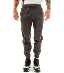 dolly noire pantaloni uomo jogger ripstop sh106