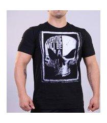 camiseta grafite skull masculino preto rb-095 xl