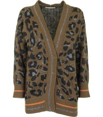 fabiana filippi v-neck wool and cashmere cardigan