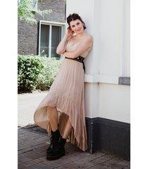 ambika jurk beige 30607a