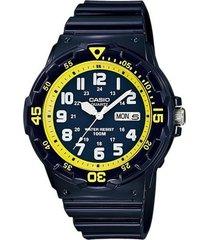 reloj analógico hombre casio mrw-200hc-2b - azul