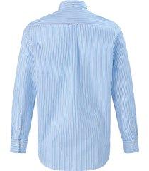 overhemd 100% katoen button-downkraag van gant blauw