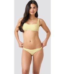 mango venecia bikini bottom - yellow