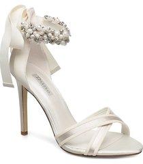martine bröllopsskor högklackat vit dune london