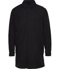 2 mb stretch car coat dunne lange jas zwart tommy hilfiger tailored