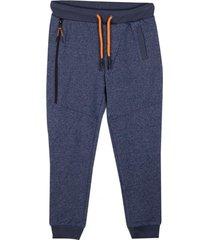 pantalón buzo básico cierre azul pillin