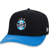 boné new era 9fifty stretch sn gremio preto