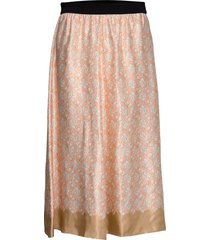 biella knälång kjol rosa by malene birger