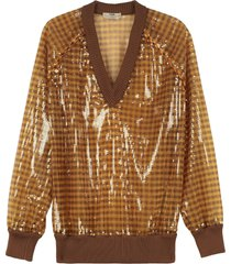 fendi sequin pullover
