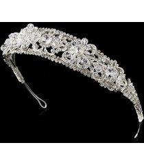 mia swarovski bridal headband tiara