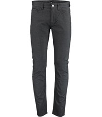 hugo boss delaware3 broek antraciet slim 50431521/001