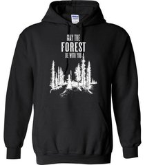 may the forest be with you blend hoodie