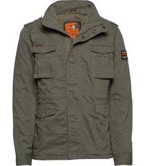 classic rookie jacket tunn jacka grön superdry