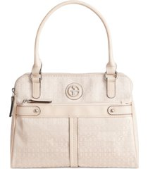 giani bernini annabelle signature swagger satchel, created for macy's