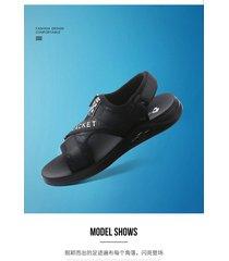 sandalias de hombre, zapatillas versátiles.