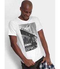 camiseta burn brklyn masculina