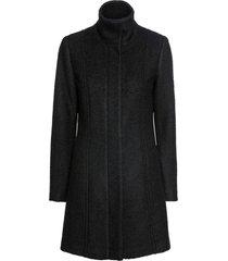 cappotto corto bouclé (nero) - bodyflirt