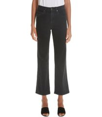 women's khaite vivian bootcut jeans, size 29 - black