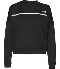 wvaruna pullover sweat-shirt trui zwart the north face