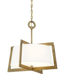 designers fountain hyde park 3 light inverted pendant