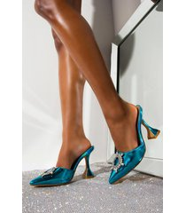 akira dont sugar coat it curved heel sandal