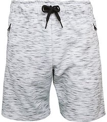 headley space-dyed sweat shorts