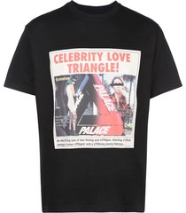 palace love triangle t-shirt - black