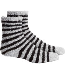 charter club striped super soft butter crew socks, created for macy's