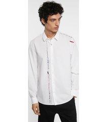 shirt message 100% cotton - white - xl