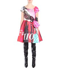 moschino bustier dress with bow