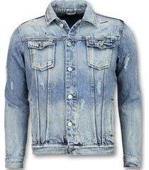 bootcut jeans enos spijkerjack - spijkerjas - jeans jas-