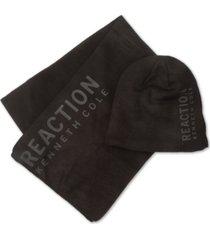 kenneth cole reaction men's beanie & scarf set