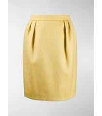 max mara textured short skirt