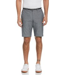 "original penguin men's grosgrain trim oxford 10"" shorts"