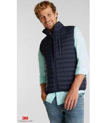chaqueta sin mangas thinsulate de 3m azul oscuro esprit