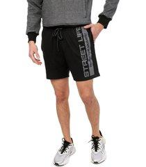 pantaloneta negro-gris colore