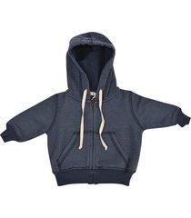 babe & tess zip-up hoodie