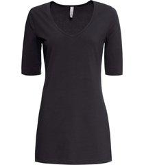 maglia con maniche a 3/4 (nero) - bodyflirt boutique