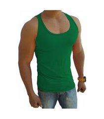 camiseta regata masculina tank 03 verde