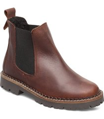 hailey chelsea warm l shoes chelsea boots brun shoe the bear