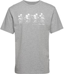 bobo t-shirt t-shirts short-sleeved grå wood wood