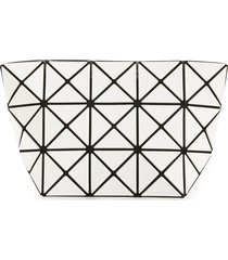 bao bao issey miyake prism pouch, size one size - white