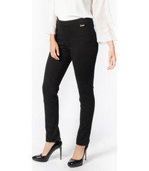 pantalón pinstripe negro calvin klein