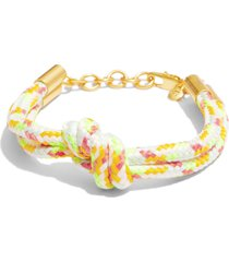 women's madewell knotted rope bracelet