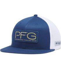 columbia men's pfg flexfit fitted cap