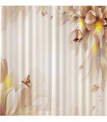 a prueba de rayos uv cortina dormitorio salón cortinas lavables bjq-1