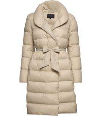 lumi down coat gevoerde lange jas crème andiata