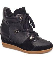 emmy hike shoes high-top sneakers svart shoe the bear