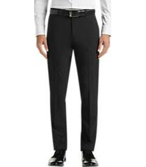 perry ellis premium slim fit tech dress pants black