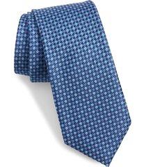 men's ted baker london micro dot silk tie